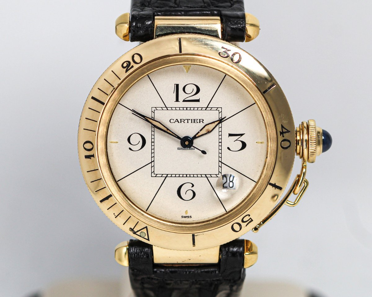 Cartier Pasha 1989 pre-owned