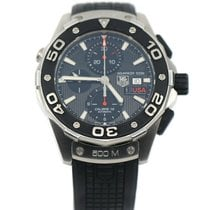 TAG Heuer CAJ2111.FT6036 Steel Aquaracer 500M 43mm pre-owned United States of America, New York, New York