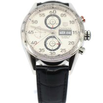 TAG Heuer CV2A11.FC6235 Steel Carrera Calibre 16 43mm pre-owned United States of America, New York, New York