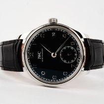 IWC Portuguese Hand-Wound новые 2018 Механические Часы с оригинальными документами и коробкой IW510202