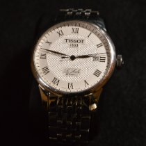 Tissot pre-owned Automatic 39mm Silver Sapphire crystal