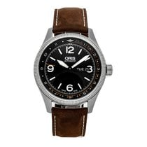 Oris Royal Flying Doctor Service Limited Edition occasion 45mm Noir Date Cuir
