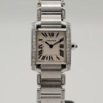 Cartier Tank Française Steel 20mm White Roman numerals United States of America, California, Santa Monica