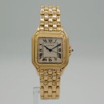 Cartier Panthère Yellow gold 27mm Gold Roman numerals United States of America, California, Santa Monica