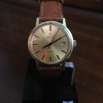 Omega Genève Gold/Steel 33mm Gold No numerals United States of America, Illinois, Flossmoor