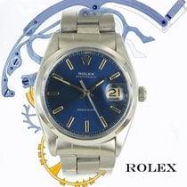 Rolex Oyster Precision Stahl 35mm Blau Keine Ziffern Deutschland, München