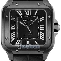 Cartier wssa0039 2021 Santos 100 39.8mm new United States of America, New York, Airmont