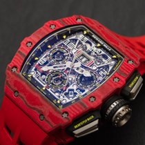 Richard Mille RM 011 pre-owned Rubber
