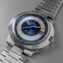 Omega Genève Çelik 41mm Mavi Rakamsız
