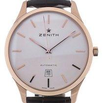 Zenith Port Royal Oro rosa 40mm Plata