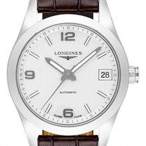 Longines Conquest Classic Stahl 34mm Silber Deutschland, Schwabach