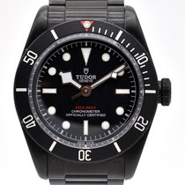 Tudor Black Bay Dark Сталь 41mm Черный Без цифр