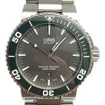 Oris Aquis Date Steel 43mm Grey No numerals United States of America, Florida