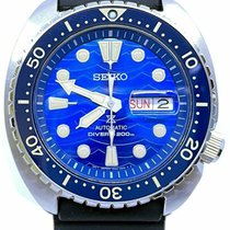 Seiko Steel 45mm Blue No numerals United States of America, Florida