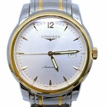 Longines Saint-Imier Steel 38.5mm Silver No numerals United States of America, Florida