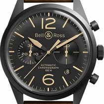 Bell & Ross BR V1 new Automatic Chronograph Watch only BRV126-HERITAGE