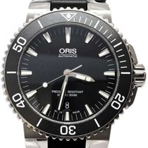 Oris Steel Automatic Black 43mm new Aquis Date