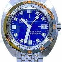 Doxa Sub Steel 42.7mm Blue No numerals United States of America, Florida