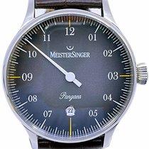 Meistersinger Pangaea Steel 40mm Arabic numerals