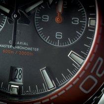 Omega Seamaster Planet Ocean Chronograph nuevo 2020 Automático Cronógrafo Reloj con estuche y documentos originales 215.30.46.51.99.001