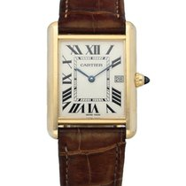 Cartier Tank Louis Cartier Yellow gold 25mm White United States of America, New York, New York