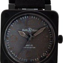 Bell & Ross BR 01-92 подержанные Черный Ткань