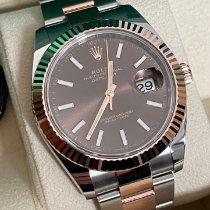 Rolex Datejust II Gold/Stahl 41mm Braun Keine Ziffern Deutschland, 68723 Schwetzingen