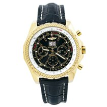 Breitling Yellow gold Automatic Black Arabic numerals 48mm pre-owned Bentley 6.75