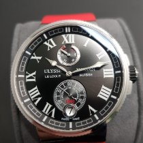 Ulysse Nardin Marine Chronometer Manufacture Steel 43mm Black Roman numerals
