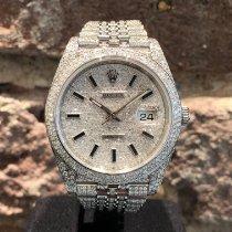 Rolex Datejust Stahl 41mm Keine Ziffern Deutschland, Köln