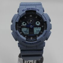 Casio Vjestacki materijal 49mm Kvarc CASIO G-Shock GA-100DE-2AER nov