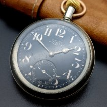 Omega Watch pre-owned 1915 Steel 52mm Arabic numerals Manual winding Watch only