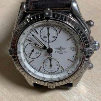 Breitling Chronomat Stål 39mm Hvit Ingen tall