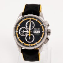 Epos pre-owned Automatic 44mm Black Sapphire crystal 10 ATM