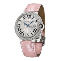 Cartier Ballon Bleu 36mm White gold 36mm Silver United States of America, Connecticut, Greenwich