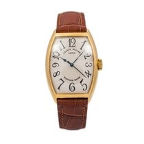 Franck Muller Yellow gold Automatic 32mm pre-owned Cintrée Curvex