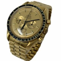 Omega Speedmaster Professional Moonwatch Yellow gold 42mm Champagne No numerals