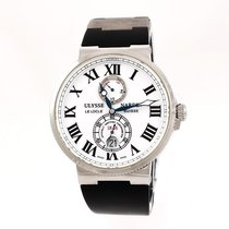 Ulysse Nardin pre-owned Automatic 43mm White Sapphire crystal 20 ATM