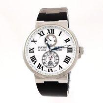 Ulysse Nardin Marine Chronometer 43mm Acier 43mm Blanc Romains