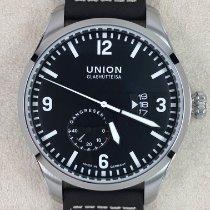Union Glashütte Belisar Pilot Steel 45,00mm Black Arabic numerals