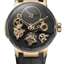 Ulysse Nardin Executive 1766-176 New Rose gold 44mm Manual winding