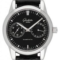 Glashütte Original Senator Zeigerdatum neu 2021 Automatik Uhr mit Original-Box und Original-Papieren 1-39-58-01-02-04