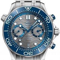 Omega Seamaster Diver 300 M Steel 44mm Grey