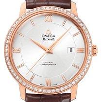 Omega 424.58.40.20.52.002 Oro rosa 2021 De Ville Prestige 39.5mm nuevo