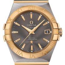 Omega Constellation Ladies Acero y oro 35mm Gris