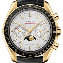 Omega 304.63.44.52.02.001 Yellow gold 2021 Speedmaster Professional Moonwatch Moonphase 44.2mm new