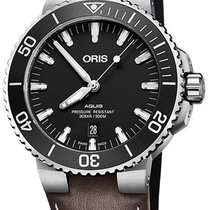 Oris 01 733 7730 4124-07 5 24 10EB Steel 2021 Aquis Date 43.5mm new