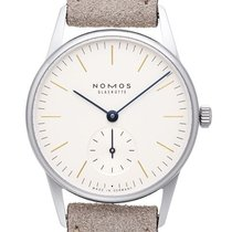 NOMOS 322 Steel 2021 Orion 33 32.8mm new