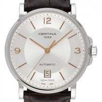 Certina new Automatic Central seconds 38mm Steel Sapphire crystal