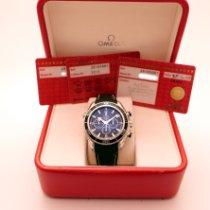 Omega Acier Remontage automatique Noir Arabes 45,5mm occasion Seamaster Planet Ocean Chronograph